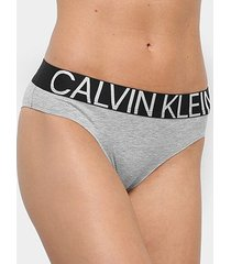 calcinha calvin klein tanga cotton statement