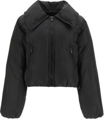 ganni short down jacket