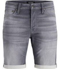 korte broek jack & jones bermudas grises hombre 12166268