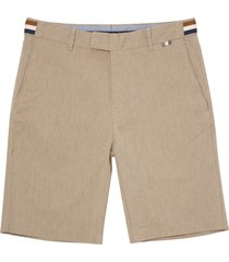 aquascutum beige seaton shorts psac18sbkls
