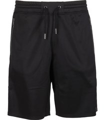 givenchy black track shorts