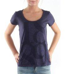 t-shirt korte mouw lee t-shirt scoop mystic plum 40kfl87