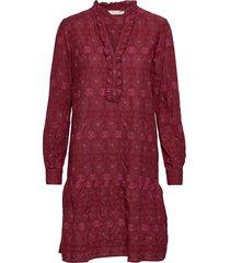 célia dress kort klänning röd odd molly