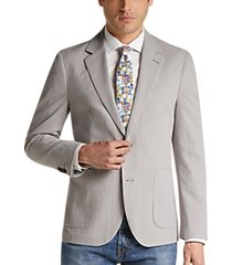tailorbyrd light gray slim fit sport coat