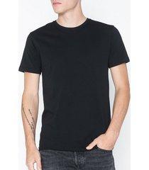 solid rock ss organic t-shirts & linnen black