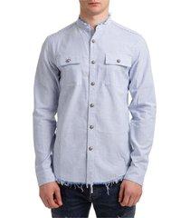 balmain fringe shirt