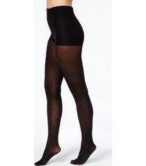 dkny women's ribbed skinsense tights