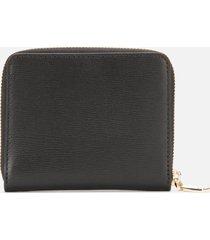dkny women's bryant small zip around purse - black