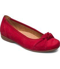 ballerina ballerinaskor ballerinas röd gabor