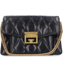 givenchy gv3 quilted leather shoulder bag