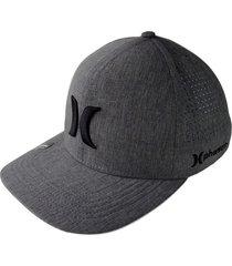 gorra para hombre hurley-gris claro