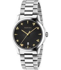 gucci g-timeless bracelet watch, 38mm