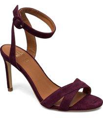sandal 4450 sandal med klack röd billi bi