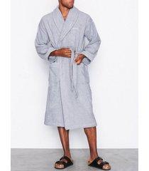 gant terry robe morgonrockar grey