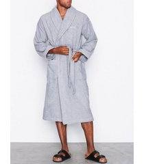 gant terry robe morgonrockar grey