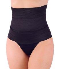 calcinha vip lingerie cinta modeladora zero barriga preto