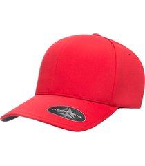 gorra flexfit delta 180 rojo talla s/m