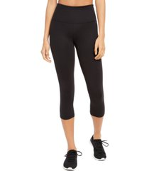 ideology high-waist capri leggings, created for macy's