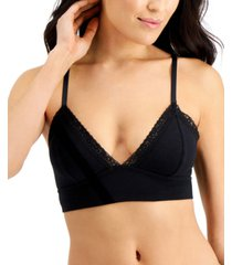 jenni wide lace bralette, created for macys