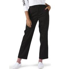 pantalon mujer wm authentic chino w negro vans