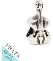 pingente prata 925 violino memories kumbayá joias