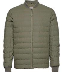 trekker jacket fodrad jacka grön rains