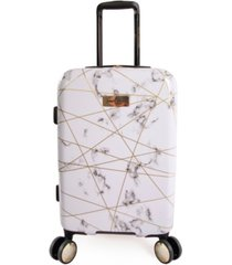 "juicy couture vivian 21"" carry-on spinner luggage"