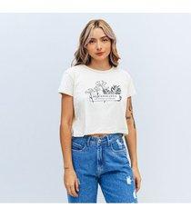 camiseta amplia corta manga corta negar