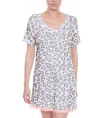 honeydew all american lace-trim sleep shirt
