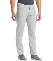 joe joseph abboud repreve® stone gray slim fit pants