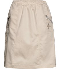sc-akila kort kjol beige soyaconcept
