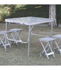conjunto de mesa e cadeiras royal nautika