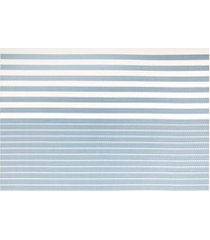 jogo americano textilene 45x30cm casual azul claro