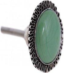 puxador- pashmina- puxador porta ceramica- verde