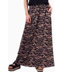 falda ema animal print zebra jacinta tienda