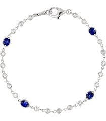 women's bony levy diamond & sapphire bracelet (nordstrom exclusive)