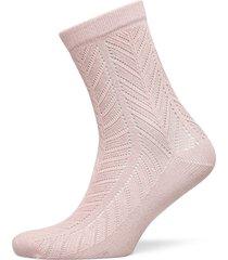 twine merlina sock lingerie socks regular socks rosa becksöndergaard