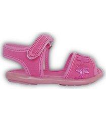 sandalia rosa rigazio