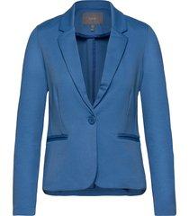 rizetta blazer - blazer kavaj blå b.young