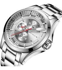 reloj mini focus mf0199g-2 para hombre-plata