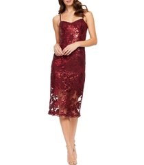women's dress the population kate embellished cocktail dress