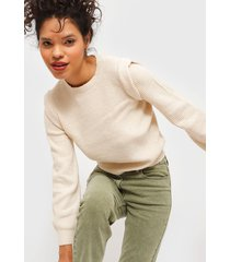 sweater jacqueline de yong beige - calce regular