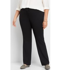 maurices plus size womens legacy black dressy bootcut pants