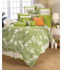 capri 4 pc duvet set, super queen bedding