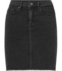 jeanskjol pcaia mw dnm skirt bl613