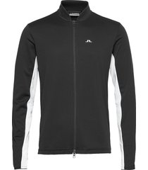 alex golf mid layer sweat-shirts & hoodies fleeces & midlayers svart j. lindeberg golf
