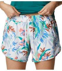 columbia women's bogata bay printed shorts