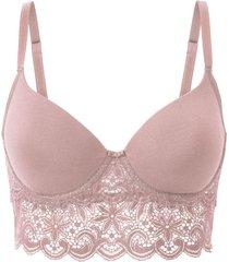 beugel-bh, roze 80c