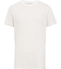 the organic striped tee t-shirts short-sleeved vit by garment makers