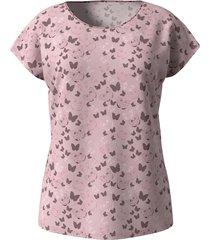 shirt dress in oudroze